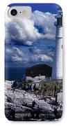 The Front At Portland Head IPhone Case by Skip Willits