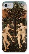 The Golden Age IPhone Case by Lucas Cranach