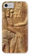 The Golden Shrine Of Tutankhamun IPhone Case by Egyptian Dynasty