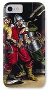 The Gunpowder Plot IPhone Case by Ron Embleton
