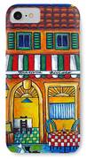 The Little Trattoria IPhone Case by Lisa  Lorenz