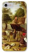The Market Cart IPhone Case by Henry Charles Bryant