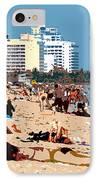The Miami Beach IPhone Case by David Lee Thompson