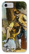 The Midnight Ride Of Paul Revere 1775 IPhone Case by Photo Researchers