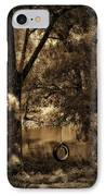 The Old Tire Swing IPhone Case by Bill Cannon