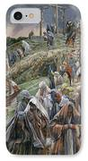 The People Beholding The Things That Were Done Smote Their Breasts IPhone Case by Tissot