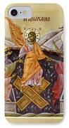 The Resurrection Of Christ IPhone Case by Julia Bridget Hayes