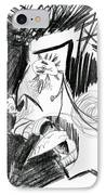 The Scream - Picasso Study IPhone Case by Michelle Calkins