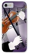 The Soloist IPhone Case by Steve Karol