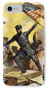 The Storming Of The Fortress At Chapultec IPhone Case by English School
