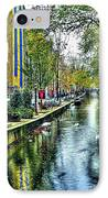 The Street IPhone Case by Svetlana Sewell
