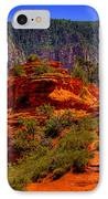 The Wedding Rock In Sedona IPhone Case by David Patterson