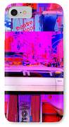 Times Square Frenzy IPhone Case by Funkpix Photo Hunter