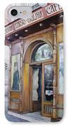 Tirso De Molina Old Tavern IPhone Case by Tomas Castano