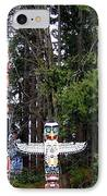 Totem Poles IPhone Case by Will Borden