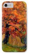 Tree Of Wisdom IPhone Case by Blenda Studio