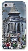 Triangle Market IPhone Case by David Bearden