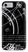 Tsiolkovsky's Works On Space Conquest IPhone Case by Ria Novosti