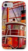 Tugboat Helen Mcallister IPhone Case by Chris Lord