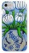 Tulip Tranquility IPhone Case by Lisa  Lorenz