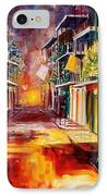 Twilight In New Orleans IPhone Case by Diane Millsap