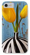 Two Yellow Tulips IPhone Case by Garry Gay