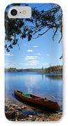 Under The Cedars IPhone Case by Larry Ricker