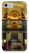 Union Station Lobby IPhone Case by Kristin Elmquist