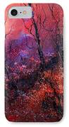 Unset In The Wood IPhone Case by Pol Ledent