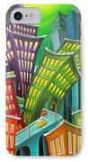 Urban Vertigo IPhone Case by Eva Folks