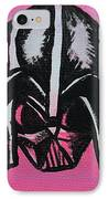 Vader In Pink IPhone Case by Jera Sky