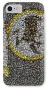 Washington Redskins Coins Mosaic IPhone Case by Paul Van Scott