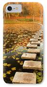 Way In The Lake IPhone Case by Evgeni Dinev