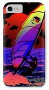 Windsurfer IPhone Case by Brian Roscorla