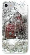 Winter Wonderland IPhone Case by Julie Hamilton