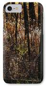 Woods - 2 IPhone Case by Linda Shafer