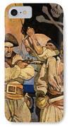 Wyeth: Treasure Island IPhone Case by Granger