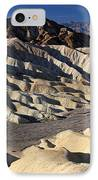 Zabriskie Point In Death Valley IPhone Case by Pierre Leclerc Photography
