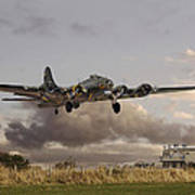 B17- 'airborne' Poster by Pat Speirs