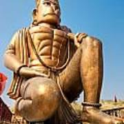 Great Bronze Hanuman - India Poster by Luciano Mortula