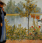Indian Summer Poster by Carl Larsson