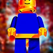 Lego Spaceman Poster by Bob Orsillo