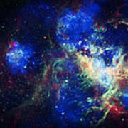 Tarantula Nebula 3 Poster by Jennifer Rondinelli Reilly - Fine Art Photography