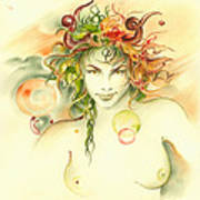 The Capricorn Poster by Anna Ewa Miarczynska