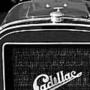 1907 Cadillac Model M Touring Grille Emblem Poster by Jill Reger