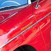 1955 Porsche 356 Speedster Poster by Jill Reger