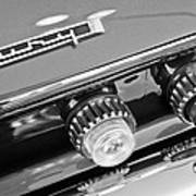 1962 Plymouth Fury Taillights And Emblem Poster by Jill Reger