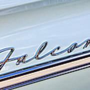 1963 Ford Falcon Futura Convertible  Emblem Poster by Jill Reger