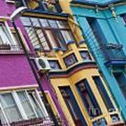 Abstract Istanbul 02 Poster by Antony McAulay