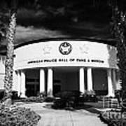 american police hall of fame and museum Florida USA Poster by Joe Fox